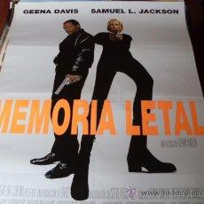 Cine: MEMORIA LETAL - GEENA DAVIS, SAMUEL L. JACKSON, DAVID MORSE - DIR.RENNY HARLIN. Lote 26723078