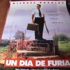 Cine: UN DIA DE FURIA - MICHAEL DOUGLAS, ROBERT DUVALL, BARBARA HERSHEY, RACHEL TICOTIN. Lote 26723093