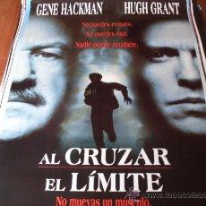 Cine: AL CRUZAR EL LIMITE - HUGH GRANT, GENE HACKMAN, SARAH JESSICA PARKER, DAVID MORSE. Lote 23854375