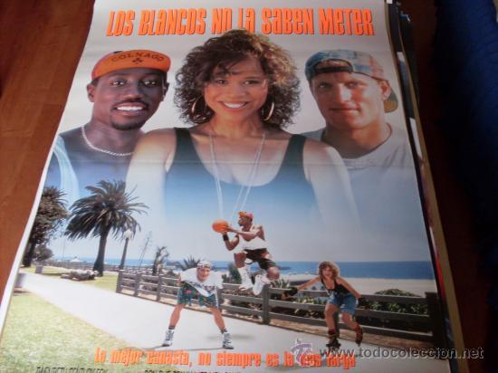 LOS BLANCOS NO LA SABEN METER - WOODY HARRELSON, WESLEY SNIPES, ROSIE PÉREZ, TYRA FERRELL (Cine - Posters y Carteles - Deportes)