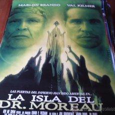 Cine: LA ISLA DEL DR. MOREAU - VAL KILMER, MARLON BRANDO, FAIRUZA BALK, DAVID THEWLIS, RON PERLMAN. Lote 74338457