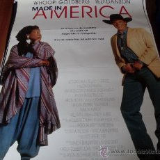 Cine: MADE IN AMERICA - WHOOPI GOLDBERG, TED DANSON, WILL SMITH, NIA LONG. Lote 26817160