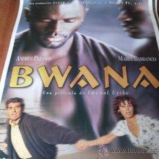 Cine: BWANA - ANDRES PAJARES, MARIA BARRANCO - DIR. IMANOL URIBE. Lote 26083362