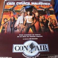 Cine: CON AIR (CONVICTOS EN EL AIRE) NICOLAS CAGE, JOHN CUSACK, JOHN MALKOVICH, STEVE BUSCEMI. Lote 29197059