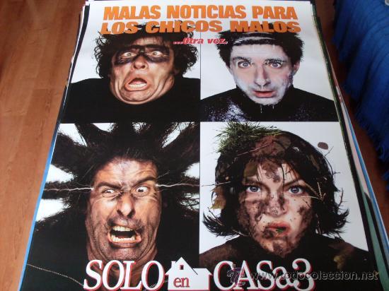 SOLO EN CASA 3 -- ALEX D. LINZ, OLEK KRUPPA, RYA KIHLSTEDT, LENNY VON DOHLEN -- (PREVIO) (Cine - Posters y Carteles - Infantil)