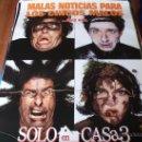 Cine: SOLO EN CASA 3 -- ALEX D. LINZ, OLEK KRUPPA, RYA KIHLSTEDT, LENNY VON DOHLEN -- (PREVIO). Lote 26841974