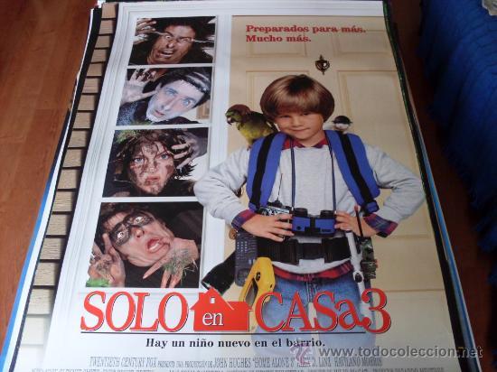 SOLO EN CASA 3 - ALEX D. LINZ, OLEK KRUPPA, RYA KIHLSTEDT, LENNY VON DOHLEN (Cine - Posters y Carteles - Infantil)
