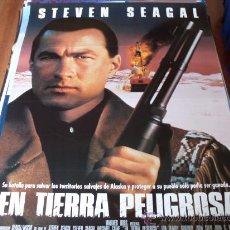 Cine: EN TIERRA PELIGROSA - STEVEN SEAGAL, MICHAEL CAINE, JOAN CHEN, BILLY BOB THORNTON. Lote 26196942