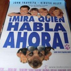 Cine: MIRA QUIEN HABLA AHORA - KIRSTIE ALLEY, JOHN TRAVOLTA, OLYMPIA DUKAKIS, GEORGE SEGAL. Lote 26883250