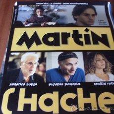 Cine: MARTIN HACHE - FEDERICO LUPPI, EUSEBIO PONCELA, CECILIA ROTH, JUAN DIEGO BOTTO. Lote 180091027