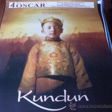 Cine: KUNDUN - TENZIN YESHI PAICHANG, GYURME TETHONG, TENCHO GYALPO - DIR. MARTIN SCORSESE. Lote 26144764