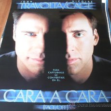 Cine: CARA A CARA (FACE/OFF) - JOHN TRAVOLTA, NICOLAS CAGE, JOAN ALLEN, GINA GERSHON - DIR. JOHN WOO. Lote 26842009