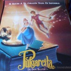 Cine: PULGARCITA - ANIMACION - DIR. DON BLUTH, GARY GOLDMAN - AÑO 1994. Lote 145804222