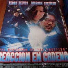 Cine: REACCION EN CADENA - KEANU REEVES, MORGAN FREEMAN, RACHEL WEISZ, FRED WARD, KEVIN DUNN. Lote 26862096