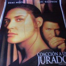 Cine: COACCION A UN JURADO - DEMI MOORE, ALEC BALDWIN, ANNE HECHE, LINDSAY CROUSE, JOSEPH GORDON-LEVITT. Lote 26883222