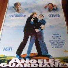 Cine: ANGELES GUARDIANES - GERARD DEPARDIEU, CHRISTIAN CLAVIER, EVA GRIMALDI - DIR.JEAN-MARIE POIRÉ. Lote 100655987