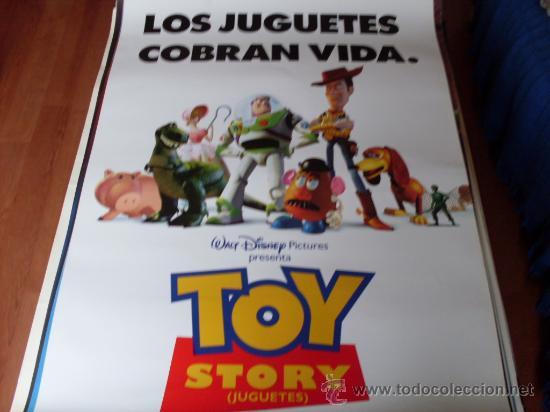 TOY STORY - ANIMACION - AÑO 1995 (CARTEL PREVIO) (Cine - Posters y Carteles - Infantil)