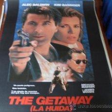 Cine: THE GETAWAY LA HUIDA - ALEC BALDWIN, KIM BASINGER, MICHAEL MADSEN, JAMES WOODS. Lote 177900744