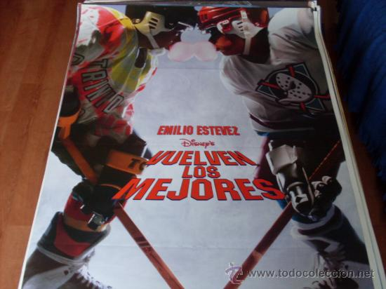 VUELVEN LOS MEJORES - EMILIO ESTÉVEZ, KATHRYN ERBE, MICHAEL TUCKER, JAN RUBES, CARSTEN NORGAARD (Cine - Posters y Carteles - Infantil)