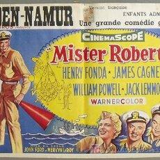 Cine: XN21D ESCALA EN HAWAI JAMES CAGNEY HENRY FONDA JACK LEMMON JOHN FORD POSTER ORIGINAL BELGA 37X55. Lote 19298112