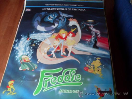 FREDDIE AGENTE 0.7. - ANIMACION - DIR. JON ACEVSKI - AÑO 1992 (Cine - Posters y Carteles - Infantil)