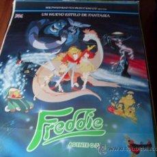 Cine: FREDDIE AGENTE 0.7. - ANIMACION - DIR. JON ACEVSKI - AÑO 1992. Lote 25195631