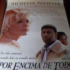 Cine: POR ENCIMA DE TODO - MICHELLE PFEIFFER, DENNIS HAYSBERT, STEPHANIE MCFADDEN. Lote 26883234