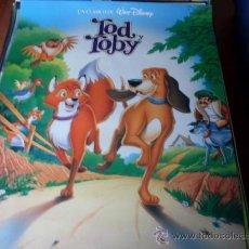 Cine: TOD Y TOBY - ANIMACION WALT DISNEY PICTURES. Lote 26703149