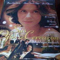 Cine: SUS OJOS SE CERRARON - AITANA SANCHEZ GIJON, JUAN ECHANOVE. Lote 25436000