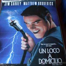 Cine: UN LOCO A DOMICILIO - JIM CARREY, MATTHEW BRODERICK, LESLIE MANN, GEORGE SEGAL. Lote 25195643