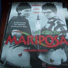 Cine: EL EFECTO MARIPOSA - COQUE MALLA, MARÍA BARRANCO, ROSA MARÍA SARDÁ - DIR. FERNANDO COLOMO. Lote 26801786
