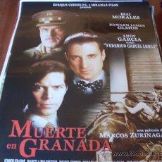 Cine: MUERTE EN GRANADA - ANDY GARCÍA, EDWARD JAMES OLMOS, ESAI MORALES, MIGUEL FERRER. Lote 25358284