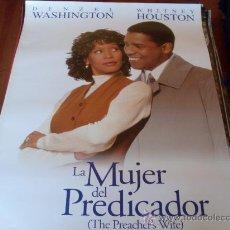 Cine: LA MUJER DEL PREDICADOR - DENZEL WASHINGTON, WHITNEY HOUSTON, COURTNEY B. VANCE, GREGORY HINES. Lote 24062713