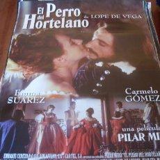 Cine: EL PERRO DEL HORTELANO - EMMA SUAREZ, CARMELO GOMEZ - DIR.PILAR MIRO. Lote 33129012