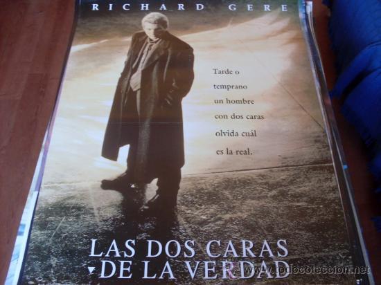 LAS DOS CARAS DE LA VERDAD - RICHARD GERE, LAURA LINNEY, EDWARD NORTON (Cine - Posters y Carteles - Suspense)