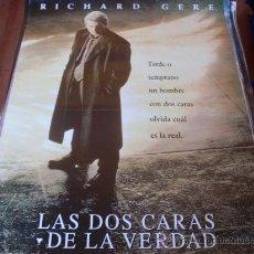 Cine: LAS DOS CARAS DE LA VERDAD - RICHARD GERE, LAURA LINNEY, EDWARD NORTON. Lote 24409308