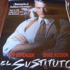 Cine: EL SUSTITUTO - TOM BERENGER, ERNIE HUDSON, MARC ANTHONY, LUIS GUZMÁN, WILLIAM FORSYTHE. Lote 26196914
