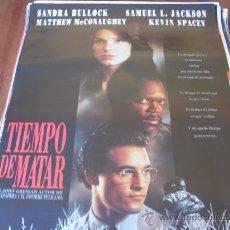 Cine: TIEMPO DE MATAR - SANDRA BULLOCK, MATTHEW MCCONAUGHEY, SAMUEL L. JACKSON, KEVIN SPACEY. Lote 26951777