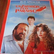 Cine: UN ZAPATON EN EL PARAISO - BUD SPENCER, CAROL ALT, THIERRY LHERMITTE, JEAN SOREL. Lote 26951783