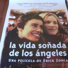 Cine: LA VIDA SOÑADA DE LOS ANGELES - ELODIE BOUCHEZ, NATACHA REGNEIR - DIR.ERICK ZONCA. Lote 25594352