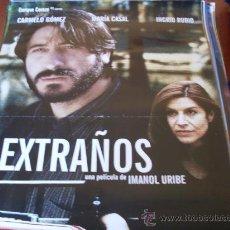 Cine: EXTRAÑOS - CARMELO GOMEZ,INGRID RUBIO - DIR.IMANOL URIBE. Lote 25195635