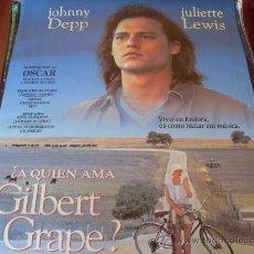 Cine: A QUIEN AMA GILBERT GRAPE? - JOHNNY DEPP, JULIETTE LEWIS, LEONARDO DICAPRIO, MARY STEENBURGEN. Lote 26677507