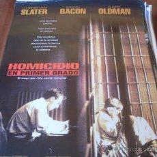 Cine: HOMICIDIO EN PRIMER GRADO - KEVIN BACON, CHRISTIAN SLATER, GARY OLDMAN, EMBETH DAVIDTZ, BRAD DOURIF. Lote 26987702