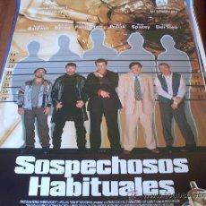 Cine: SOSPECHOSOS HABITUALES -KEVIN SPACEY, CHAZZ PALMINTERI, BENICIO DEL TORO, GABRIEL BYRNE, SUZY AMIS. Lote 26951810