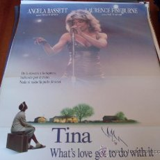 Cine: TINA WHAT'S LOVE GOT TO DO WITH IT - ANGELA BASSETT, LAURENCE FISHBURNE (BIOPIC DE TINA TURNER). Lote 26772898
