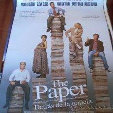 Cine: THE PAPER DETRAS DE LA NOTICIA - MICHAEL KEATON, MARISA TOMEI, GLENN CLOSE, ROBERT DUVALL. Lote 24409319