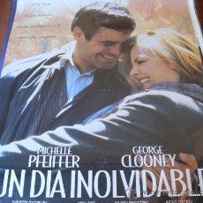 Cine: UN DIA INOLVIDABLE - MICHELLE PFEIFFER, GEORGE CLOONEY, MAE WHITMAN, CHARLES DURNING. Lote 26772901