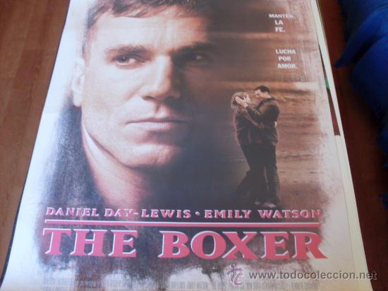 THE BOXER - DANIEL DAY-LEWIS, EMILY WATSON, BRIAN COX, KEN STOTT - DIR. JIM SHERIDAN (Cine - Posters y Carteles - Deportes)