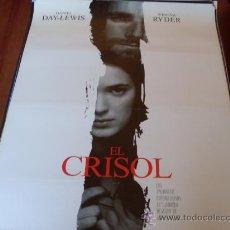 Cine: EL CRISOL - DANIEL DAY-LEWIS, WINONA RYDER, PAUL SCOFIELD, JOAN ALLEN, BRUCE DAVISON. Lote 27008031