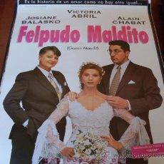 Cine: FELPUDO MALDITO - VICTORIA ABRIL, JOSIANE BALASKO, ALAIN CHABAT, MIGUEL BOSÉ - AÑO 1994. Lote 27234413